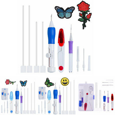Magic Embroidery Pen Kit, Embroidery Pen Punch Needle Craft Tool For Embroidery