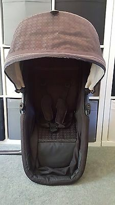Mothercare My Choice My3 / My4  Seat Unit / carrycot frame black