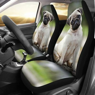 Pug Lover Car Seat Cover