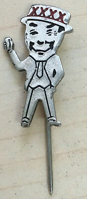 Vintage Mr. XXXX Silver Stick Pin