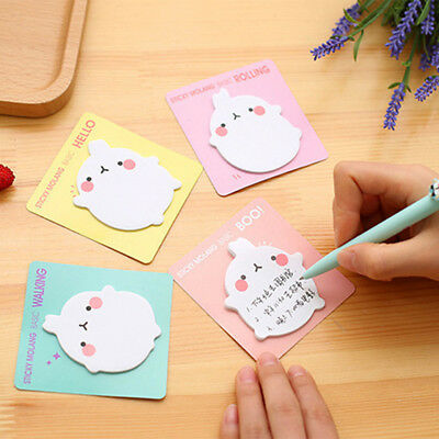 Cartoon Small Animal Sticky Notes Memo Pad Paper Sticker Bookmarks Notepad Gift