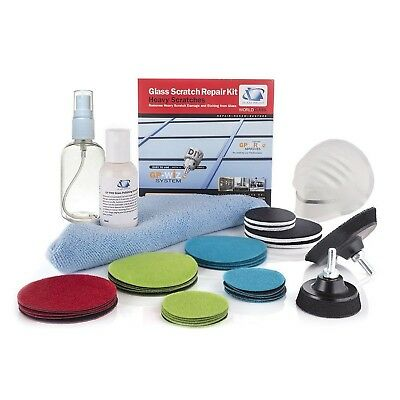 Glass Scratch Repair Kit GP-WIZ System, Removes Scratches, Surface Marks,... New