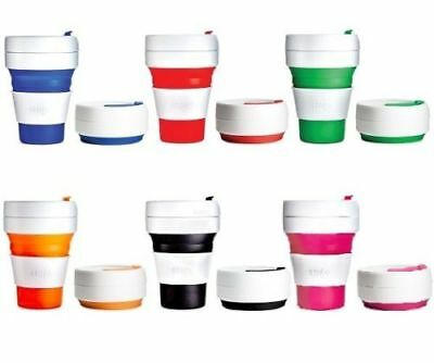 STOJO MEDIUM - Collapsible,Reusable & Leak-Proof Pocket Cup - Free P&P Worldwide