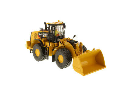 DM 1:50 CAT 982M Wheel Loader with Rock Bucket Diecast Toy Model Gift,Play 85292