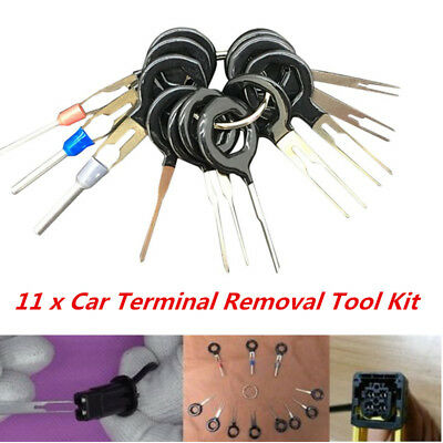 11*Terminal Removal Tool Car Electrical Wiring Crimp Connector Pin Extractor KKK