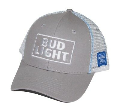 NEW Bud Light Baseball Hat Trucker Cap Saturday Down South