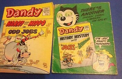 Dandy Comic Library No. 4, 5, 7, 10, 19, 25, 26, 27, 28, 29