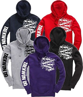 Tae Kwon Do 5 Tenets TKD Hoody Martial Arts