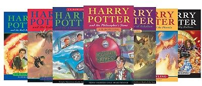 PDF Book! | Harry Potter ALL 7 BOOKS Full Series Set Complete Collection