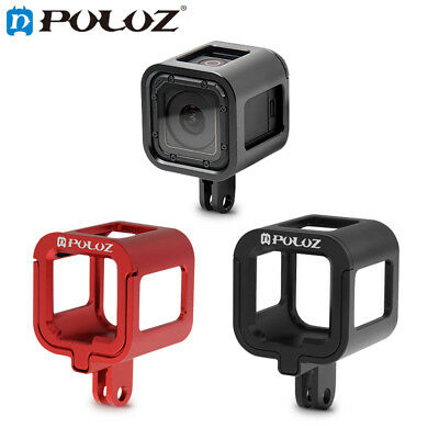 PULUZ Aluminium Housing Shell Protective Frame Cage For GoPro HERO5 / 4 Session