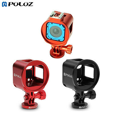 PULUZ For GoPro HERO5/4 Session Aluminum Alloy Housing Shell Protective Cage Kit