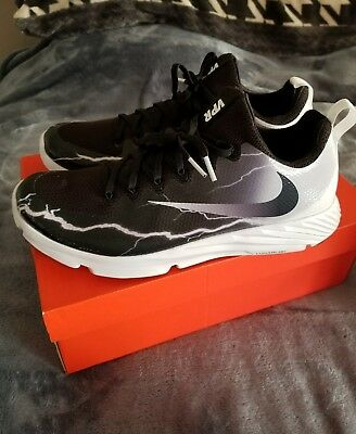 Nike Vapor Speed Turf Lightning Trainer Shoes Black White supreme jordan hype