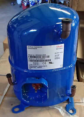 DANFOSS REFRIGERATION COMPRESSOR MPZ038A1LB2A  R404A 1ph 208/230V  3hp