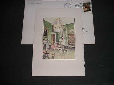 Ronald reagan white house wedding anniversary card with seal white house ronald reagan christmas card 1983 with envelope m4hsunfo