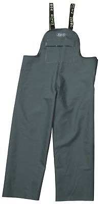 Dutch Harbor Gear Men's Quinault Rain Bib Green Large New