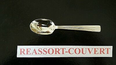 Spoon Cafe Ripple 13.8 Cm Christofle Silvered Metal 1002 16