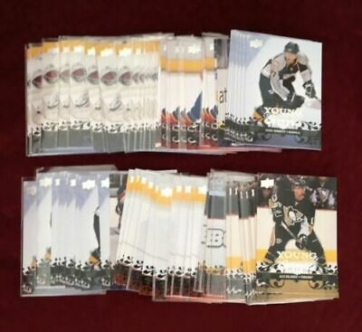 2008-09 UD YOUNG GUNS SP Rookie YOU PICK FROM DROP DOWN LIST