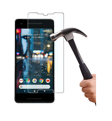 100% Genuine Google Pixel 2 Real Tempered Glass Screen Protector High Quality