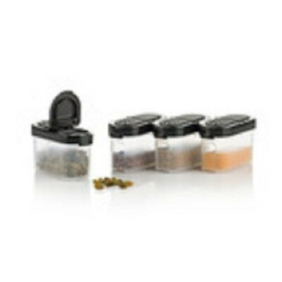 Modular Mates Spice Set - Set of 4 Small in Black - BRAND NEW