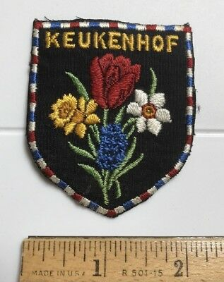 Keukenhof Lisse The Netherlands Garden of Europe Floral Flowers Souvenir Patch
