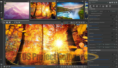 RAW Photo Editor - Image Editing Software PC Digital Photography Software
