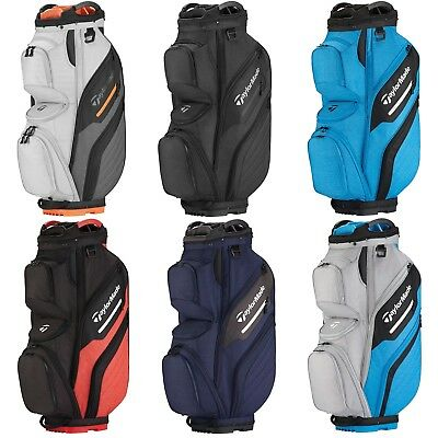 b824cec5897 2018 TaylorMade Supreme Cart Bag - Pick Your Color - 15-Way Full Length  Dividers