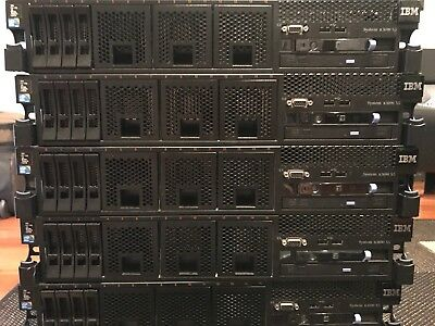 IBM X3690 Xeon E7-8870(2x10 Core 2.4 ghz) 200GB RAM