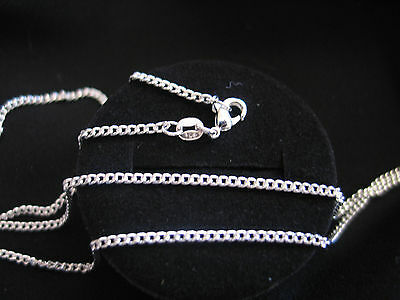"Necklace 925 Sterling Silver "" FLAT CURB "" 2mm  **Lengths 40cm - 75cm (16""-30"")"
