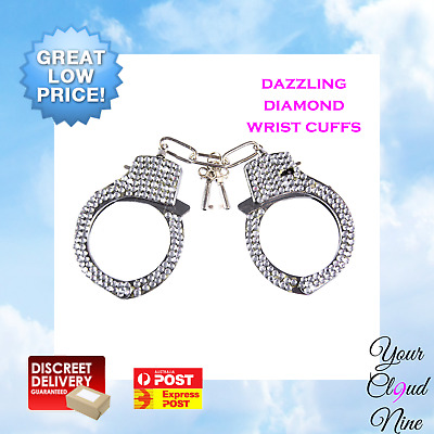 Handcuffs Bondage BDSM Hells Couture Adult Role Play Sex Toy Wrist Kit