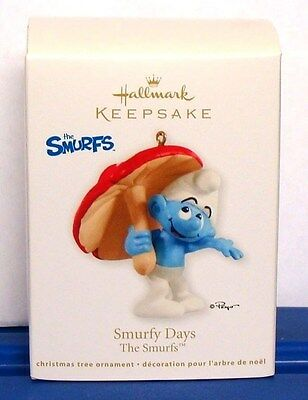 The Smurfs Cartoon Smurfy Days 2012 Hallmark Christmas Ornament