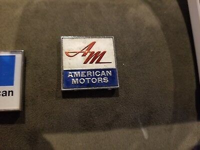 American Motors Am Script Logo Metal Car Rear Emblem 1X1