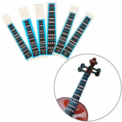 Violin Fingerboard Sticker Guide Notes Learning Marker 1/2 1/4 3/4 4/4 1/8 wow