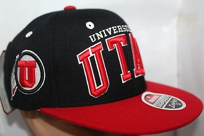 Other Unisex Clothing University Of Utah Utes Ncaa Flex Fitted Hat New Cap By Zephyr G45