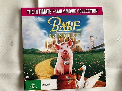 Babe Pig in the City dvd Herald sun as new.