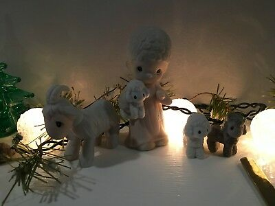 Precious Moments Replacement Nativity 104000 Shepherd with Lamb PERFECT FREE SH