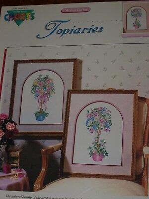 Topiaries by Marion Parker Counted Cross Stitch Leaflet Vol.#00903 Color Charts