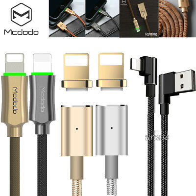 MCDODO Braided Lightning Data Cable iPhone XS Max XR X 8 USB Fast Charging Cord