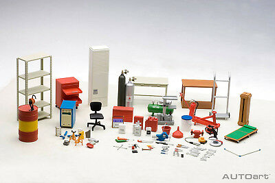 Workshop Tools and Equipment Set - 1:18 Scale by Autoart A49100