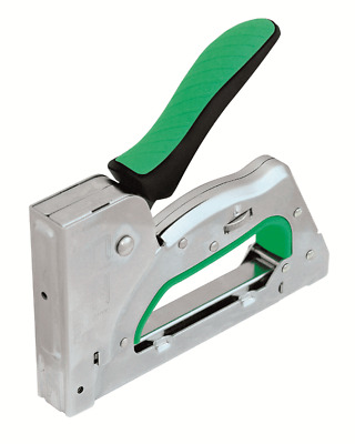 Rawlplug 3-IN-1 HAND STAPLE GUN Heavy Duty, Retractable Handle, Power Adjustment