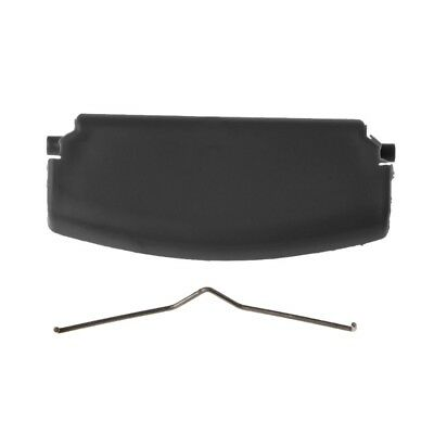 Black Car Armrest Latch Lid Center Console Cover For Audi A4 B6 B7 2002-2008 New