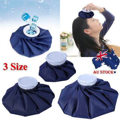 """6/9/11"""" Sport Injury Ice Cap Bag Cold&Hot Reusable First Aid Ache Pain Relief"""