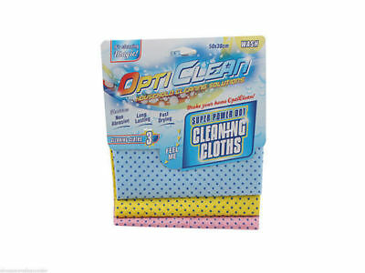 72 x cleaning cloth power dot grip cleaning in 24 pks of 3 bulk wholesale lot
