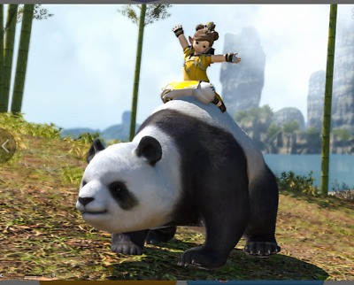 FINAL FANTASY XIV FFXIV FF14 item Mount Mystic Panda (Account-Wide) Code not gil
