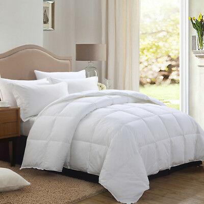 Comforter Down Alternative White Comforter Stitched Set Twin Queen King Size
