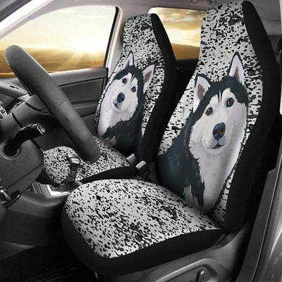Husky Car Seat Cover Set of 2 Free Shipping