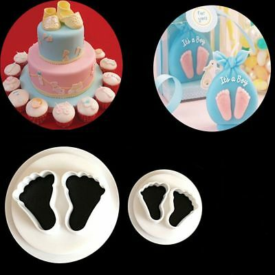 BABY FEET cutters sugarcraft  biscuit pastry baking fondant cutter cake
