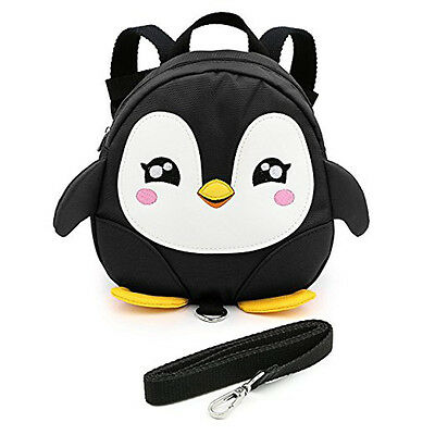 Penguin Baby Toddler Walking Safety Harness Backpack Leash Strap Bags Gifts