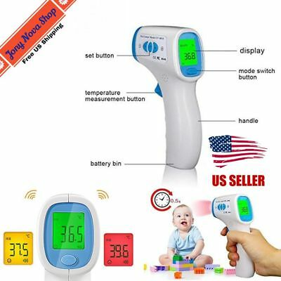Infrared Body Forehead Digital Thermometer For Adults/Baby  Surface Temperature
