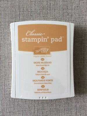 BRAND NEW Stampin' Up! More Mustard Ink Pad