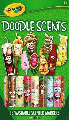 Crayola Washable Doodle Scents Markers - 18 pack